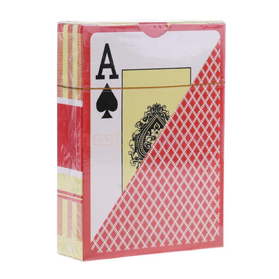 MagiDeal Plastic Playing Cards Waterproof Board Game Poker Casino Accessory