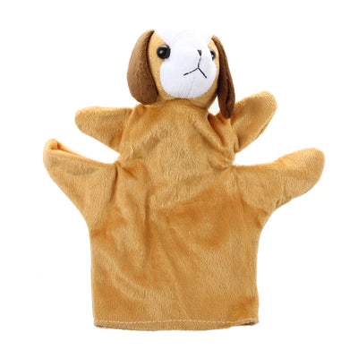 Coffee Dog Hand Puppet Finger Puppets H9S1 B6J6