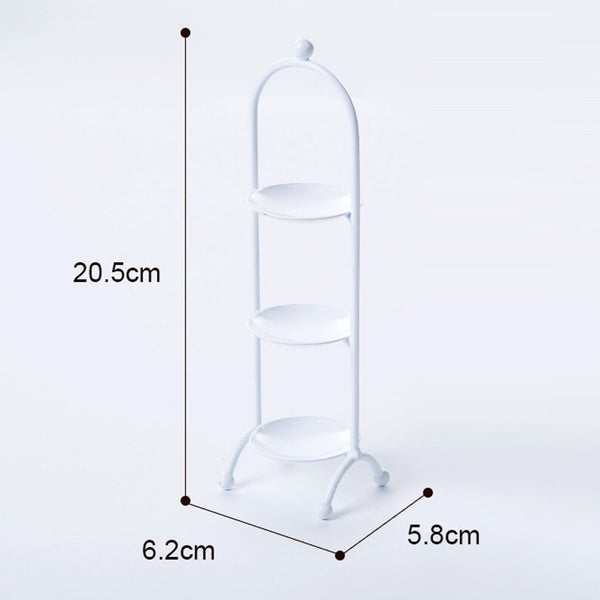 Three Layers Cupcake Rack Macaron Stand Display Board Wedding Party White