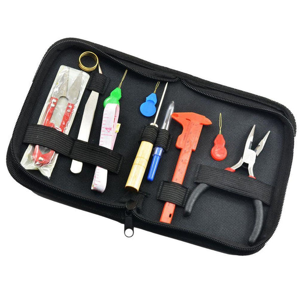 Jewellery Making Starter Kit Jewelry Tool Set for Beading Necklace Repair 12