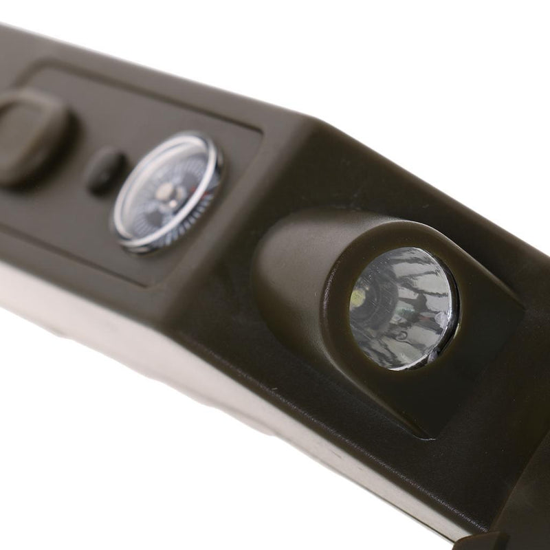 Handheld Magnifier Reading Magnifying Glass Jewelry Loupe Military Style