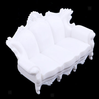 Set of 1:20 European Sofa Models Furniture Building Park Garden Accessories
