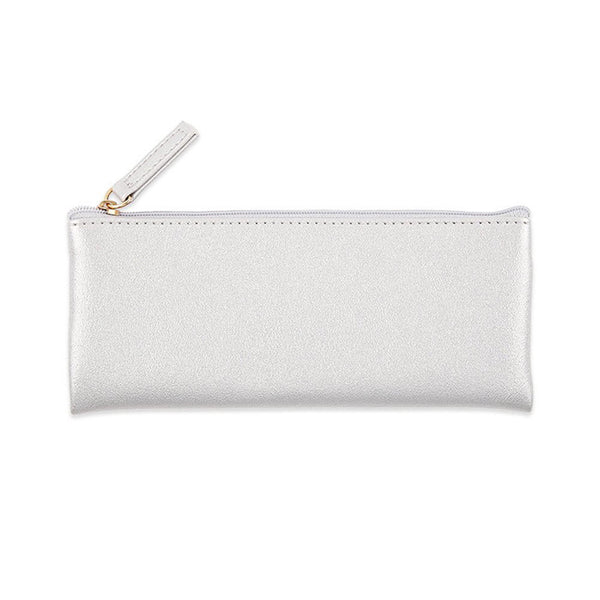 Leather Pencil Case Pouch Bag with Zipper,Pencil Case Soft Pencil Case Make C3N6