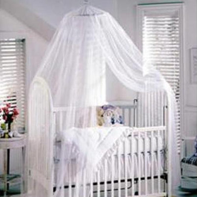 Fashion Baby Toddler Mosquito Bedding Net Netting Bed Crib Tent Canopy White