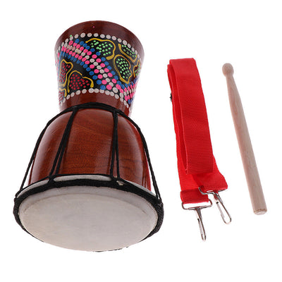 African Hand Drum Dance Drum Draw Stippling Djembe Hand Rhythm Percussion