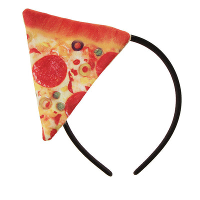 10pcs Women Girls Pizza Fast Food Headband Headpiece Birthday Party Dress up