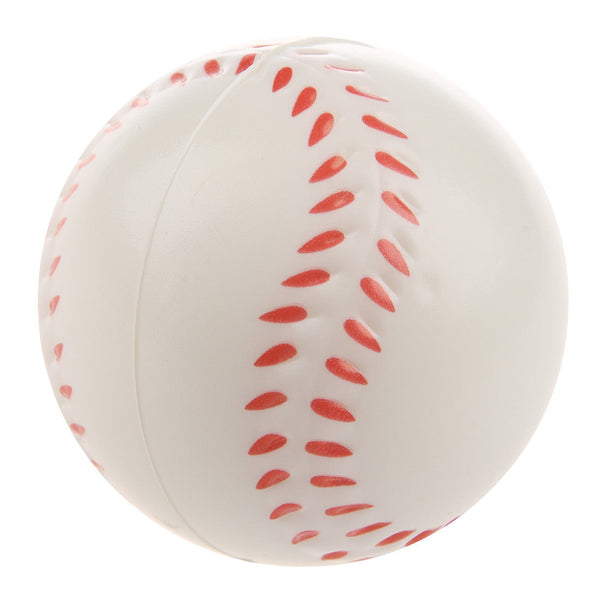 White Baseball Stress Ball G0K2