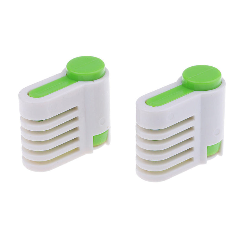 2x Adjustable 5 Layer Cake Leveller Slicer Bread Cutter Fixator Kitchen Tool