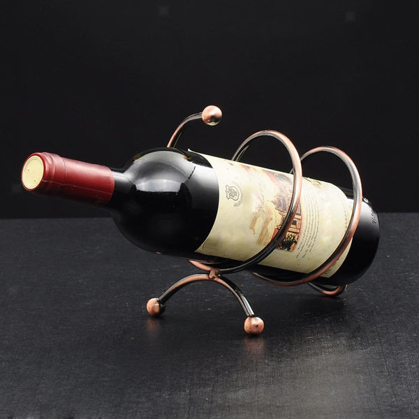 Wine Glass Bottle Rack Holder with Corkscrew Wine Beer Bottle Cap Opener