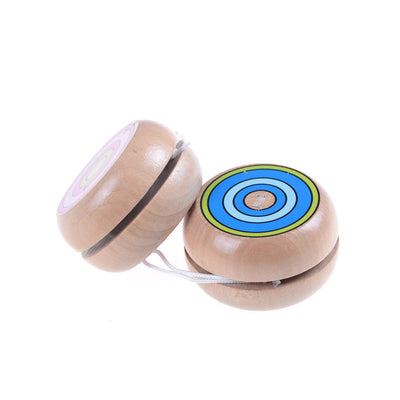Wooden YOYO kids classic toys xmas gifts party favors kindergarten om