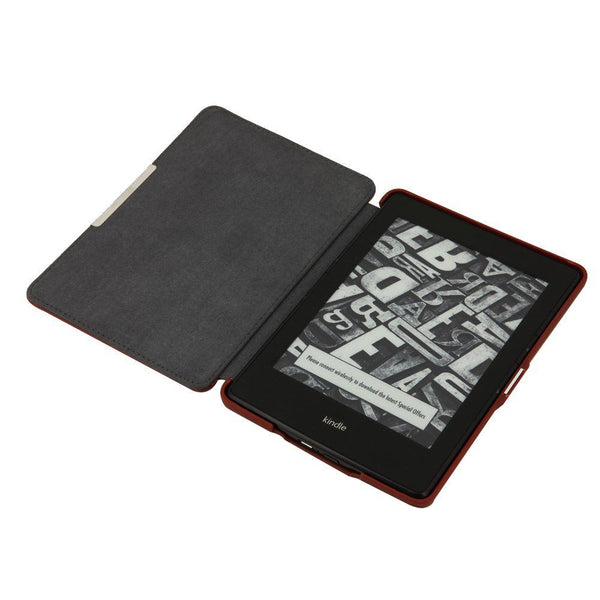 Kindle Paperwhite/Kindle paperwhite two use PU leather cover magnet feature S4Z3