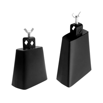 4''+6'' Metal Cowbell with Handle for Drum Set Kit Percussion Instrument