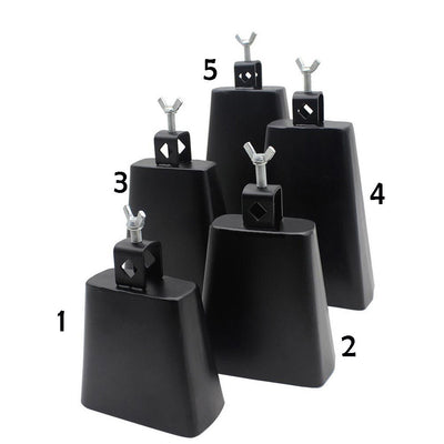 4inch+6inch Metal Cattlebell Cowbell with Mallet for Drumset Kit Percussion