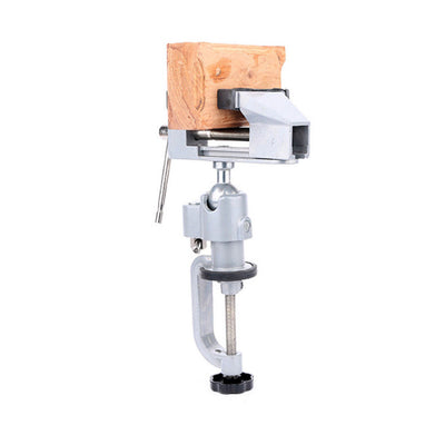 2-Inch (52mm) Opening 360 Degrees Universal Bench Vise Table Vise Home Vise