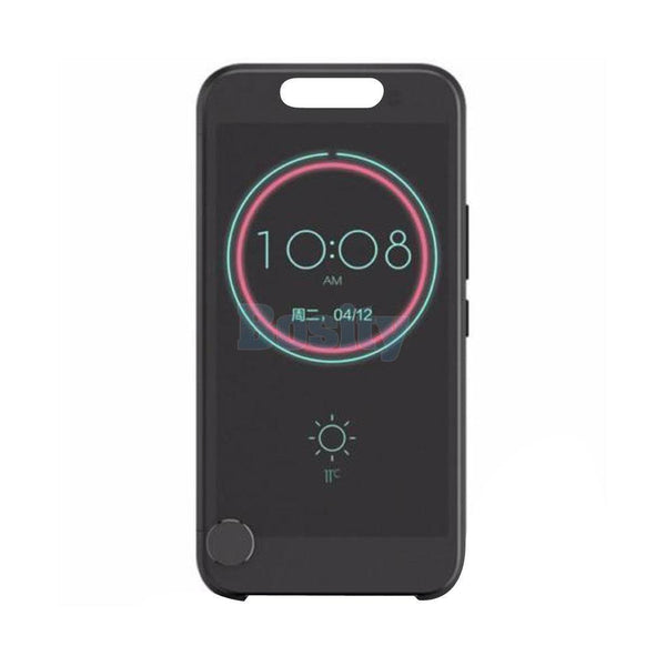 Dot View Ice Premium Flip Hard Case Cover for HTC One M10
