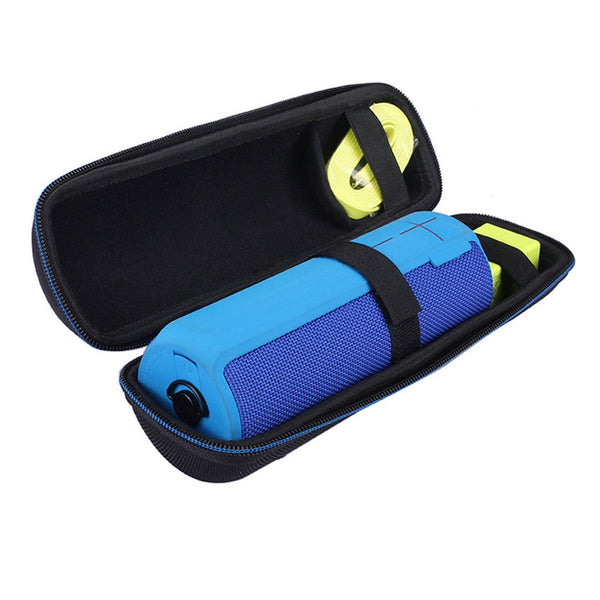 Travel Carry EVA Case Storage Bag Box for Megaboom Audio Speaker Black