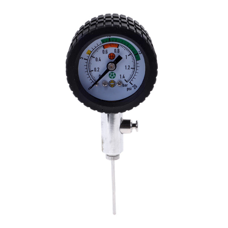 Ajboy Ball Pressure Gauge Pointer Type Football Basketball Professional Metal Pressure Measurement Table