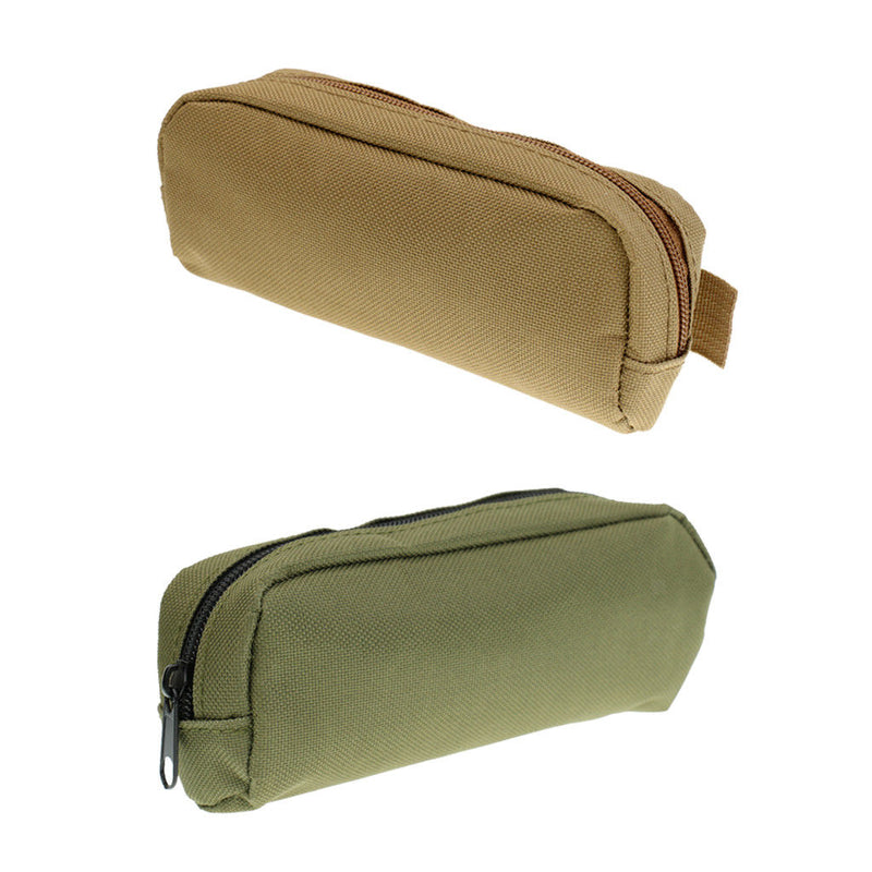 2pcs Protable Zipper Sunglasses Soft Case Glasses Eyewear Box Pouch Bag