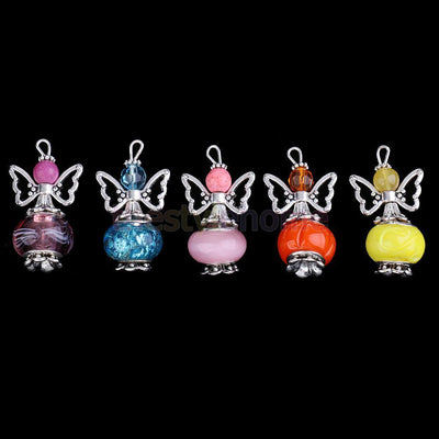 MagiDeal 30pcs Angel Butterfly Wing Charms Pendant DIY Acrylic Bead Colorful