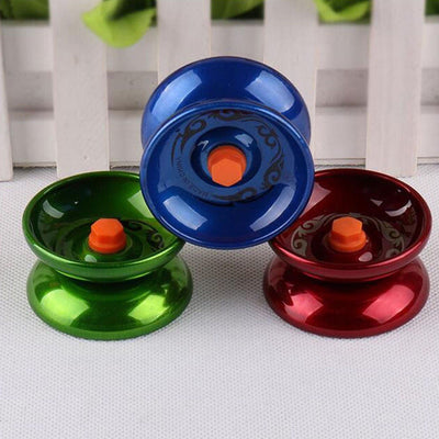 Cool Aluminum Design Professional YoYo Ball Bearing String Trick Alloy Kids、New