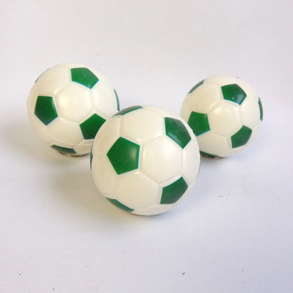 Soft Soccer Shaped Stress Ball Stress Relief Squeeze Foam Ball 6.3cm Xmas 6kq