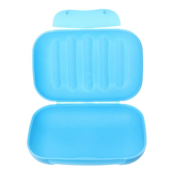 Soap Box Dish Plate Holder Case Container Bathroom Shower Travel Home Use