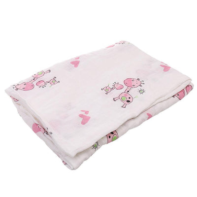 2pc Soft Newborn Swaddle Wrap Blanket Sleeping Bag for 0-6 Months Infant