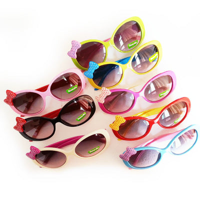 2Pcs Girls Sunglasses Popular Toddler Children UV400 Frame Goggles Outdoor