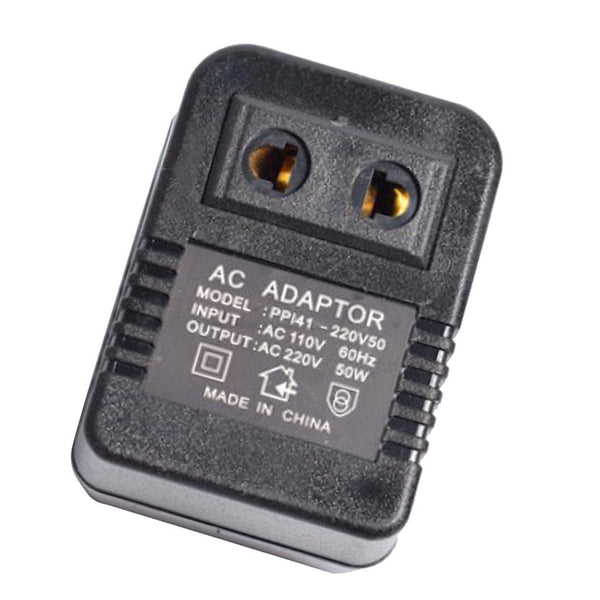 110V to 220V Travel Charger Power Adapter Converter Wall Plug Home