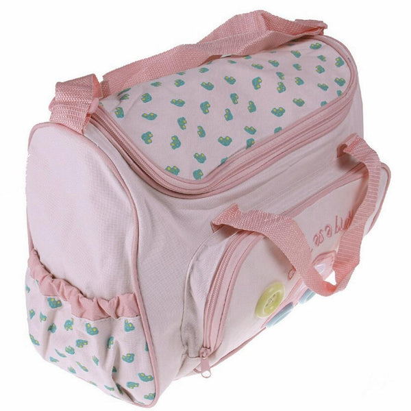 4x Waterproof Baby Diaper Nappy Mummy Travel Changing Bottle Holder Handbag