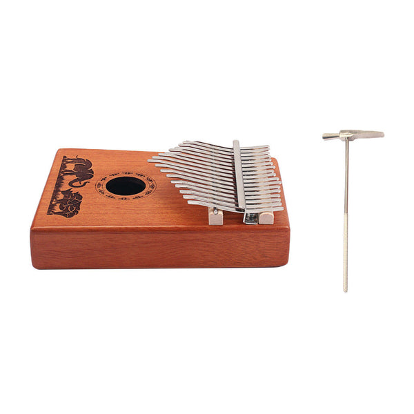 Hand 17Keys Kalimba Mbira Keyboard Instrument Accessory for Children Gift