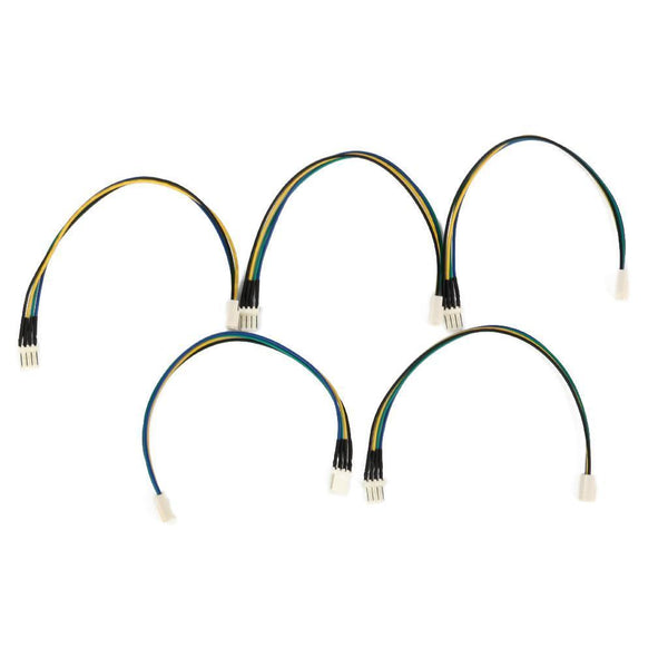 5x Computer PC Case fan Extension Male to Female POWER Cable 4 PIN