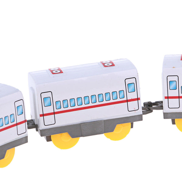 Battery Powered Train Electric Train Toys with 5 Carriage for Childhood Toys
