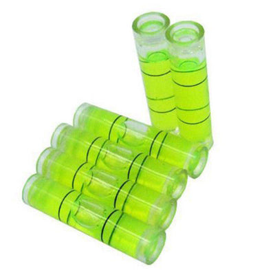 4 PCs D 8mm L 35mm Acrylic Bubble Spirit Level Vial 5/16 (D) x 1 3/8 (L) in Y4S5