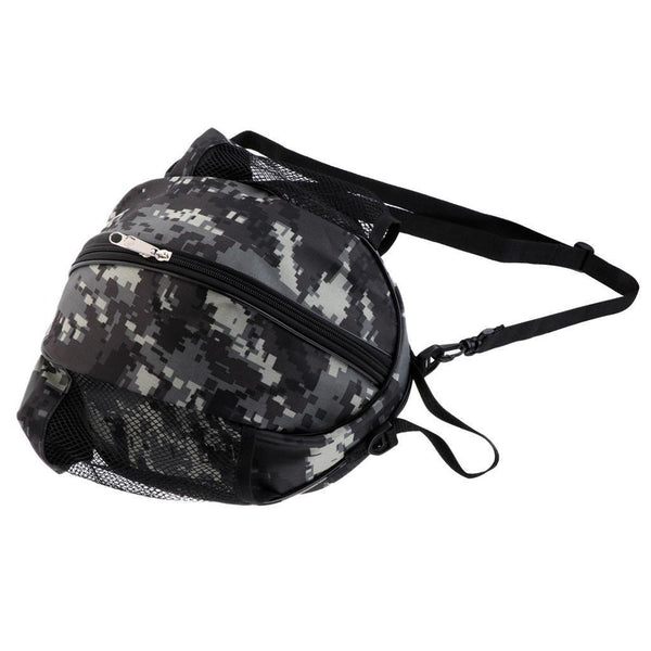 Portable Basketball Carry Case Football Volleyball Storage Carry Bag Camo