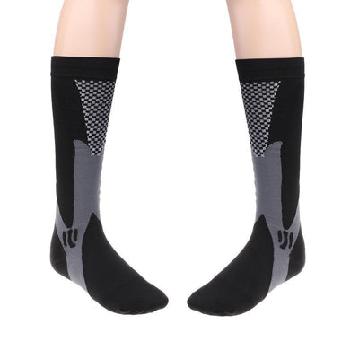 2 Pair Mens Boys Football Socks Sports Soccer Hockey Baseball Knee High Sock