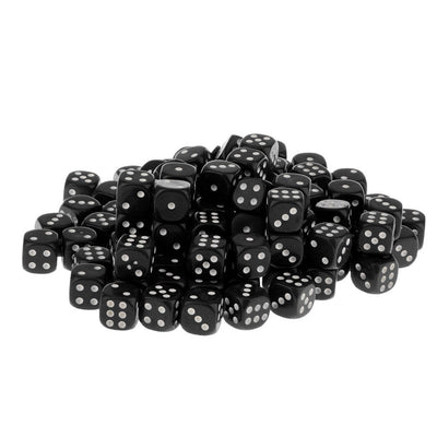 MagiDeal 200x D6 Dices Set Dotted Dice for Dungeons & Dragons RPG Table Game