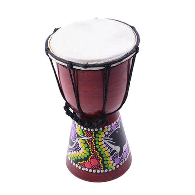 African Hand Drum Dance Drum Draw Stippling Djembe Hand Percussion Toys