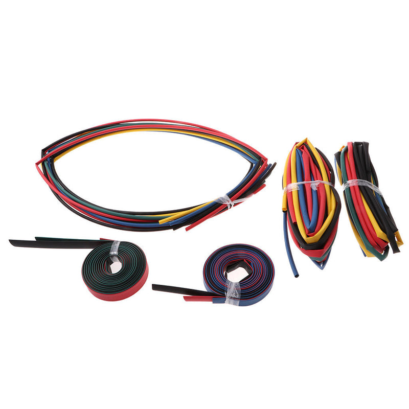 Heat Shrink 2m Tubing 5 Sizes Cable Insulation & Wire Sleeve Ratio 2:1