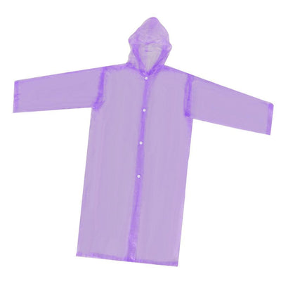 Nondisposable Waterproof Kid Child Raincoat Poncho for Walking Emergency Prp