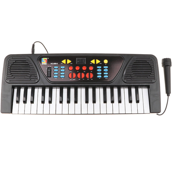 Digital 37 Keys Electronic Piano Keyboard w/Microphone Children Music Toys