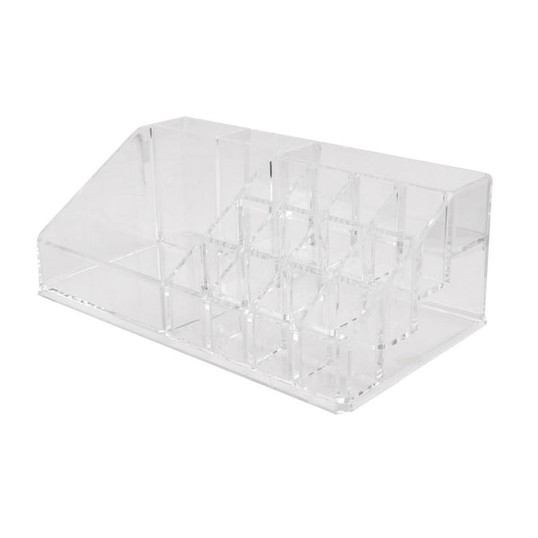 15 Grids Cosmetic Organizer Display Lipstick Holder Case Box Jewelry Storage