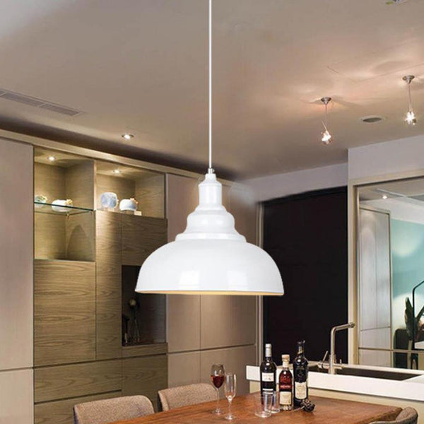 Chandelier Shade Cover Ceiling Light Cover Pendant Lampshade - White