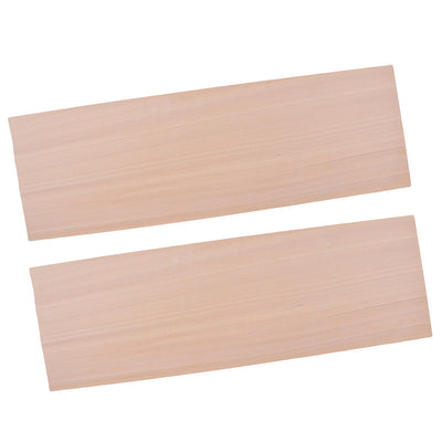 2Pcs Balsa Wood Board Plate 0.6mm for DIY Woodworking Art Craft Decorative
