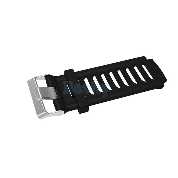 Silicone Replacement Watch Band Bracelet for Garmin Forerunner 910XT Black