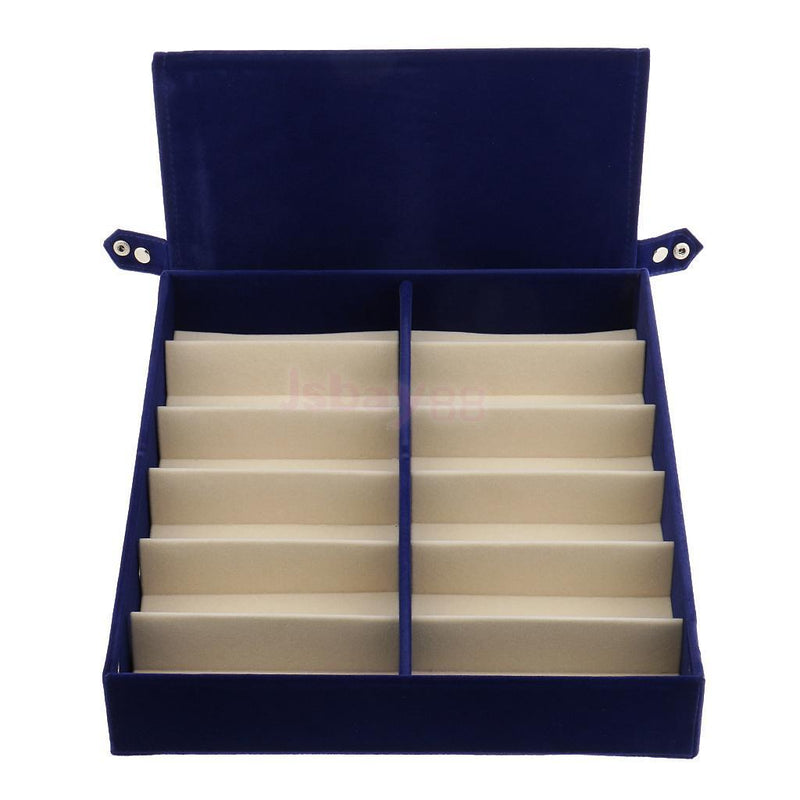 12 Grids Sunglasses Display Case Eyeglasses Storage Box Retail Glasses Stand