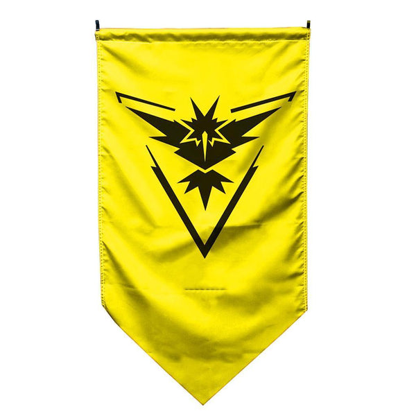 Pokemon Go Flag Team Banner Wall Hanging Poster Plaque Sign Decor Instinct#2