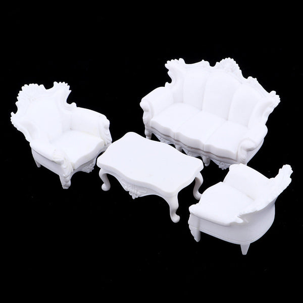 1:20 Plastic Simulation Sofa Furniture Models for Diorama Wargame Accessory