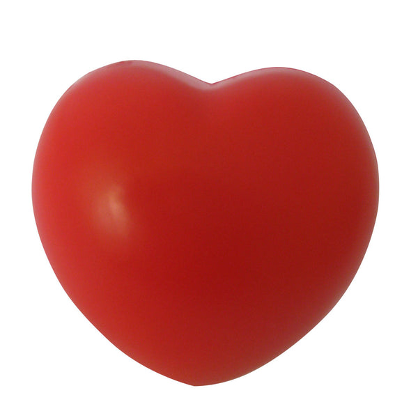 Heart Stress Reliever Ball Red SH