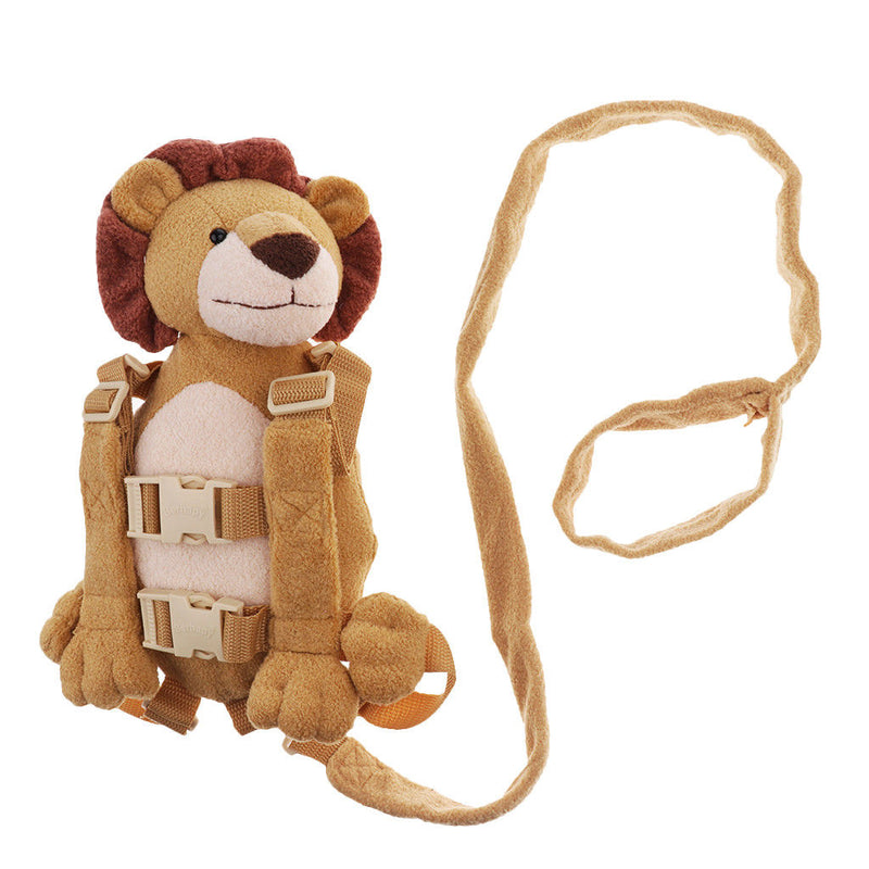 Baby Kids Backpack Anti-lost Toddler Walking Safety Harness Strap Lion
